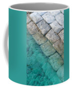 Green Water Blocks Coffee Mug