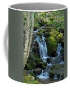 Green Waterfall Coffee Mug