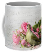 Green Woodpecker Stilllife Coffee Mug