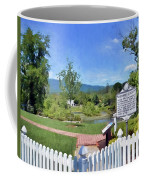 Greenbrier County Historical Marker In Alderson West Virginia Coffee Mug