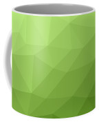 Greenery Ombre Gradient Geometric Mesh Coffee Mug