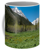 Greens And Blues Of The Maroon Bells Coffee Mug