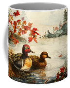 Greenwinged Teal Ducks Coffee Mug