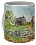 Greeting At The Gate Coffee Mug