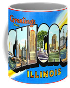 Greetings From Chicago Illinois Coffee Mug