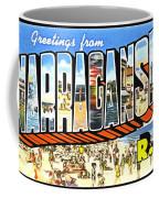 Greetings From Narragansett Rhode Island Coffee Mug