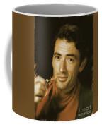 Gregory Peck, Vintage Actor Coffee Mug