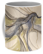 Grey And Gold Classic Coffee Mug
