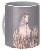 Grey And White Coffee Mug