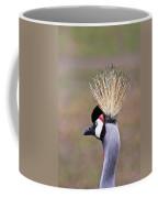 Grey Crowned Crain Of Africa 2 Coffee Mug