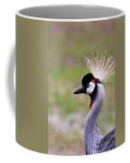 Grey Crowned Crain Of Africa Coffee Mug