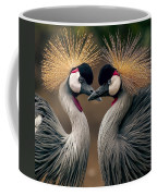 Grey Crowned Cranes Of Africa Coffee Mug