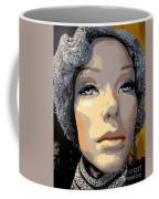 Grey Glitter Gertrude Coffee Mug