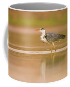 Grey Heron Ardea Cinerea Coffee Mug