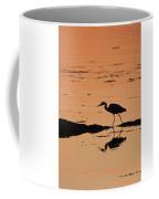 Grey Heron Sunset Coffee Mug