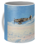Grey In Blue Coffee Mug