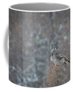 Grey In Snow Coffee Mug