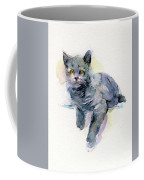 Grey Kitten Coffee Mug