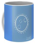 Grey Sun Coffee Mug