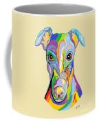 Greyhound Coffee Mug by Eloise Schneider