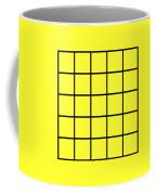 Grid In Black 05-p0171 Coffee Mug