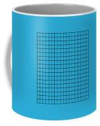 Grid In Black 18-p0171 Coffee Mug