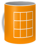 Grid In White 03-p0171 Coffee Mug