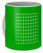 Grid In White 09-p0171 Coffee Mug