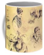 Griffonnage 1814 Coffee Mug