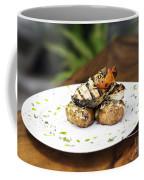Grilled Fish With Roast Potato Herbs And Garlic Coffee Mug