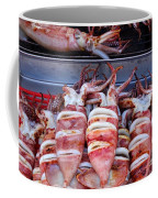 Grilled Squid For Sale Coffee Mug
