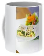 Grilled Vegetable And Salad Wrap Coffee Mug