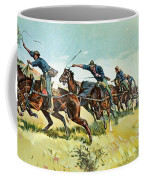 Grimes's Battery Going Up El Pozo Hill Coffee Mug