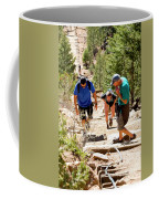 Grinding It Out On The Manitou Incline And Barr Trail Coffee Mug