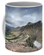 Grinnell Glacier Overlook Panorama - Glacier National Park Coffee Mug