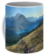 Grinnell Glacier Trail Hiker Coffee Mug