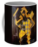 Gris: Harlequin Coffee Mug by Granger