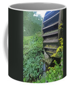 Grist Mill Water Wheel Cape Cod Coffee Mug