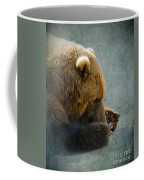 Grizzly Bear Lying Down Coffee Mug