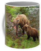 Grizzly Dinner For Two Coffee Mug