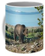 Grizzly Sow At Yellowstone Lake Coffee Mug