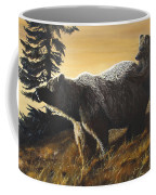 Grizzly With Cub Coffee Mug