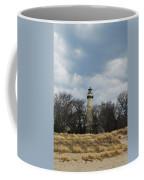 Grosse Point Lighthouse Portrait Coffee Mug