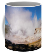 Grotto Geyser Eruption And Spray Coffee Mug