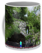 Grotto Of Our Lady Of Lourdes Coffee Mug