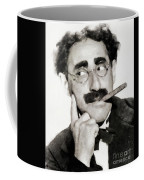 Groucho Marx, Vintage Comedy Actor Coffee Mug