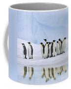 Group Of Emperor Penguins Coffee Mug