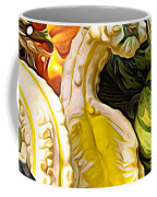 Group Of Gourds Expressionist Effect Coffee Mug