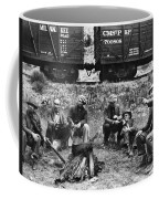 Group Of Hoboes, 1920s Coffee Mug
