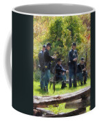 Group Of Union Soldiers Coffee Mug